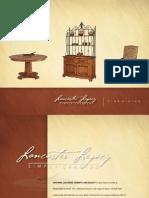 Lancaster Legacy Dining Catalog 2011