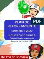 4. Plan de Reforzamiento Ciclo 2021-2022 (Semana Del 04 Al 08 de Octubre)