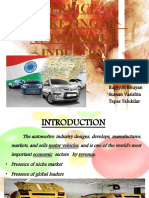 Service Marketing of Automobile Industry