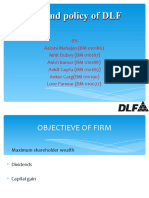 Divident Policy of Dlf-1
