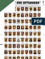 DWI Convictions Feb-April 2011