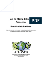 Guidelines to Bilingual Preschool Implementation e