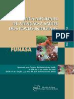 TEXTO 10 - Política Nacional de Atenção à Saúde dos Povos Indígenas