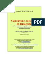 Schumpeter, Joseph - Capitalisme, socialisme et démocratie [parte 1 e 2]
