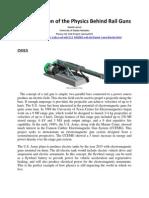 An Exploration of the Physics Behind Rail Guns