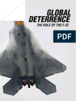 Global Deterrence, The Role of the F-22