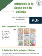 Introduction Biologie Cellulaire 2020.Pptx