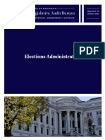 Wisconsin State Auditor Report of 2020 Election
