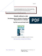 Wealth Without a Job (38 Pg Sample) - Phil Laut