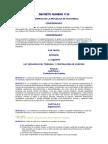 Ley de la Contraloría de Cuentas DCX 1126