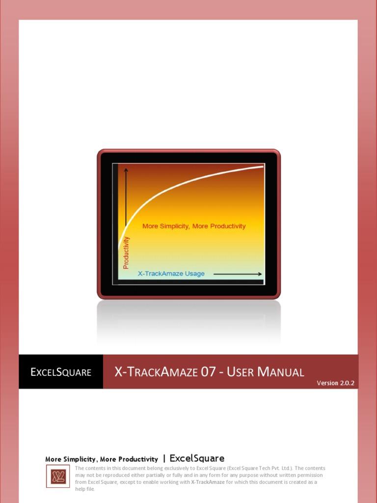 x trackamaze advanced