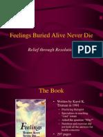 Feelings Buried Alive - Slides