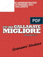 programma elettorale elezioni amministrative Gallarate 2011