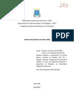 relatório gilcelli e leiany - circuitos básicos no multisim versão final (1)