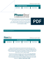 Phaseone Overview