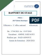 Rapport de Stage.sais