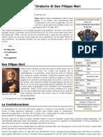 Confederazione dell'Oratorio di San Filippo Neri