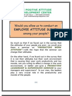 6. the Attitude Survey Program