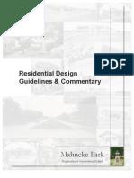 Mahnche Park Design Standards 1-24-2011 (Doc 2)