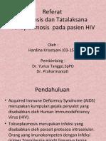 Referat Toxoplasma Ppt