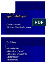 Using Xperfinfo and Xperf