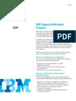IBM Cognos Certification Program