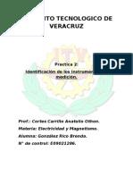 Identificacion Del Intrumentos de Medicion