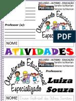 1 AEE Escrita Do Nome Enzo Gabriel Da Silva Santos