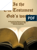 Is the Old Testament God's Word