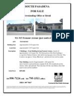 911-915 Fremont Avenue, South Pasadena | for Sale