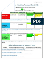 LeonExhib Summ Assess Rubric 2011 1