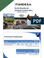 Informe Mundial Competitividad Turistica 2011