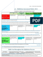 WitCopy of Exhib Summ Assess Rubric 2011