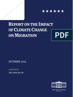 Biden's Report on the Impact of Climate Change on Migration