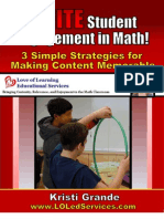 IGNITE Student Engagement in Math