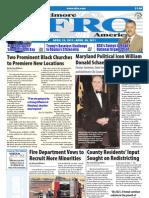 Baltimore Afro-American Newspaper, April 23, 2011