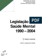 Legislação saúde mental