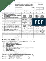 Chemistry Test 9