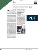 Radicalismo umanistico ed ecologia, tre giorni di dibattiti - Il Corriere Adriatico del 22 ottobre 2021
