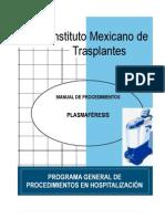 Manual Plasmaferesis