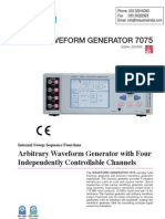 Waveform Generator Function Generator Hioki 7075 01