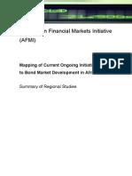 Bond Mapping Study - Summary of Regional Studies March 24