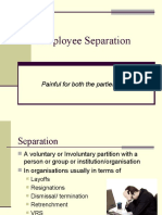 Employee Separation-My Ppt
