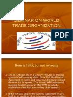 121 Seminar on World Trade Organization