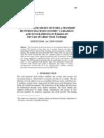 3 ZAKIR Macro Economic Variables and Stock Prices