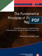 The Fundamental Principles of Financial Regulation