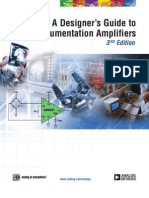 A Designers Guide to Instrumentation Amplifiers 3rd Ed
