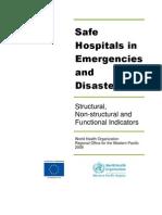 Safe Hospitals Manual