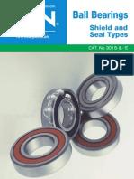 NTN 6916 - Catalog 3015 - Ball Brgs Shield & Seal Types