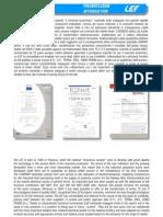 LEF Catalogo generale